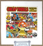 Cheap Thrills Signed Serigraph Print