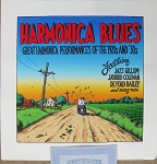 Harmonica Blues Signed Serigraph Print #178/200