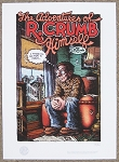 Adventures of R.Crumb Himself Signed Artist Proof