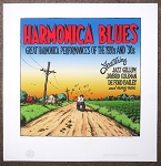 Harmonica Blues Signed Giclee Artist Proof